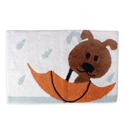 Saturday Knight Raining Cats And Dogs Bath Rug