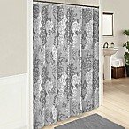 Cheyanne 72-Inch Cotton Shower Curtain in Grey