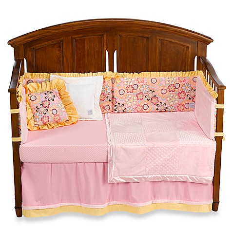 Kathy Ireland Home Sweetie Pink Crystals Crib Bedding and ...