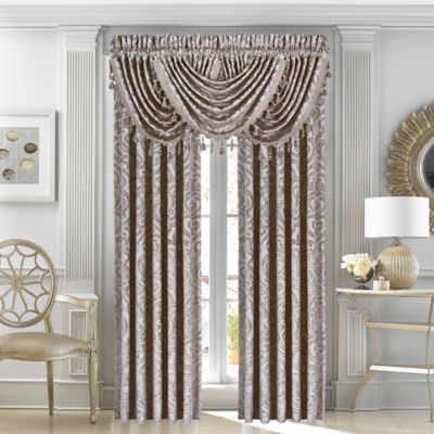 J Queen New YorkTM Sicily 84 Inch Window Curtain Panel Pair In Pearl