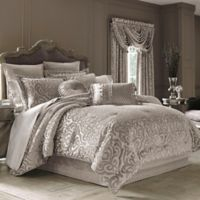 J. Queen New York™ Sicily Full Comforter Set in Pearl