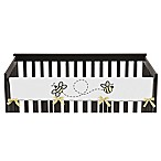 Sweet Jojo Designs Honey Bee Long Crib Rail Cover