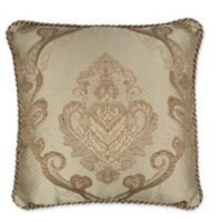 Austin Horn Classics Prosper 18-inch Square Throw Pillow in Copper/Gold