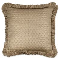 Austin Horn Classics Prosper 20-inch Square Throw Pillow in Copper/Gold