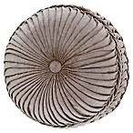 J. Queen New York™ Sicily Round Throw Pillow in Pearl