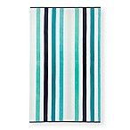 Multi Stripe Beach Towel in Blue