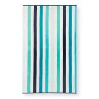 Multi Stripe Beach Towel in Blue