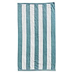 Resort Stripe Beach Towel in Blue