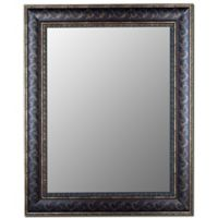 Hitchcock-Butterfield 35-Inch x 47-Inch Gold Scroll Wall Mirror in Bordeaux Bronze