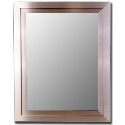 Bathroom Mirrors Brushed Nickel buy brushed nickel mirrors from bed bath & beyond