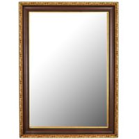 Hitchcock-Butterfield Chateau 36-Inch x 46-Inch Wall Mirror in Antique Cherry/Gold