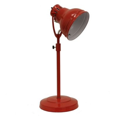 Décor Therapy Desk Task Table Lamp In Red