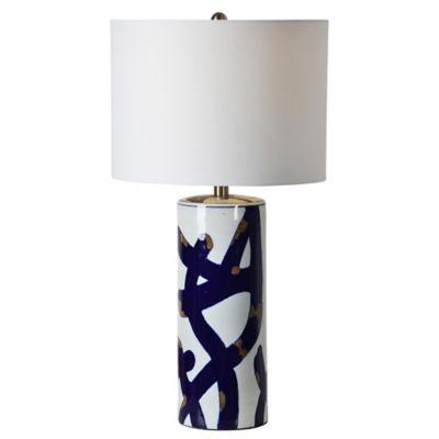 Cobalt Table Lamp In Blue/White