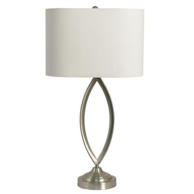 Buy brushed steel table lamp from bed bath beyond brushed steel table lamp aloadofball Gallery