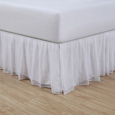 buy 15 white queen bed skirt from bed bath & beyond