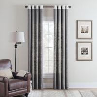 Cambria® Malta Remix 108-Inch Grommet Top Window Curtain Panel in Grey