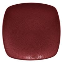 Noritake® Red on Red Swirl Square Dinner Plate