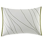 Vera Wang™ Home Dragonfly Wing Veined Oblong Throw Pillow in White