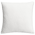 Hailey Square Throw Pillow in White