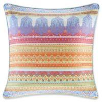 Sophia European Pillow Sham in Aqua/Green