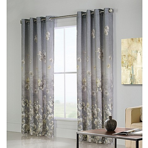 Commonwealth Home Fashions Chamberlain Grommet Top Window Curtain Panel Bed Bath Beyond