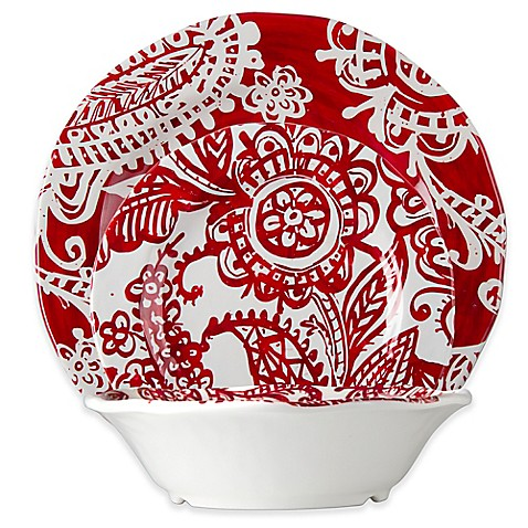 tag Paisley Dinnerware Collection in Red/White  sc 1 st  Bed Bath \u0026 Beyond & tag Paisley Dinnerware Collection in Red/White - Bed Bath \u0026 Beyond