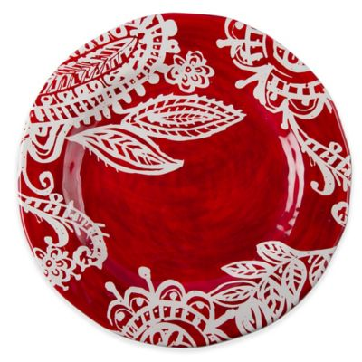 tag Paisley Dinner Plates in Red/White (Set of 4)  sc 1 st  Bed Bath \u0026 Beyond & Buy Paisley Dinnerware Sets from Bed Bath \u0026 Beyond