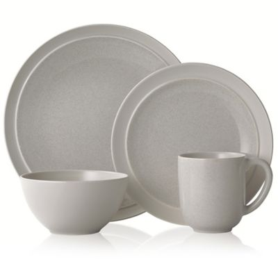 Gourmet Basics by Mikasa® Jocelyn 16-Piece Dinnerware Set in Grey  sc 1 st  Bed Bath \u0026 Beyond & Buy Mikasa Dining Sets from Bed Bath \u0026 Beyond