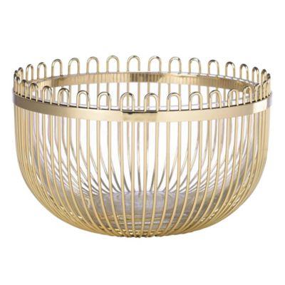 Gold Decorative Bowl Entrancing Buy Gold Decorative Bowls From Bed Bath & Beyond Decorating Design