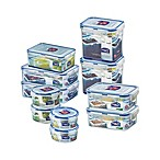 Lock & Lock® 22-Piece Food Storage Set in Clear/Blue