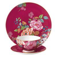 Wedgwood® Tea Garden Raspberry 3-Piece Place Setting
