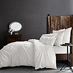 Wamsutta® Vintage Ruched King Duvet Cover in White