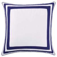 Christian Siriano Garden Bloom European Pillow Sham in Blue/White