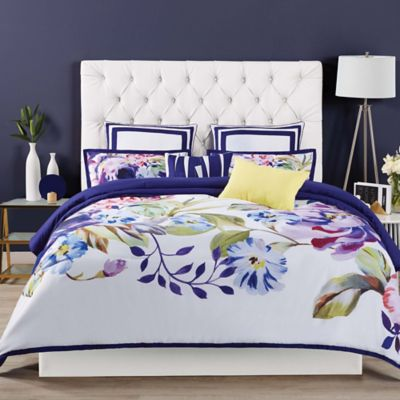 Siriano Garden Bloom King Duvet Cover Set