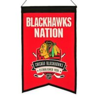 NHL Chicago Blackhawks Nation Banner