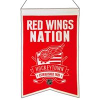 NHL Detroit Red Wings Nation Banner
