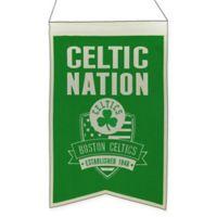 NBA Boston Celtics Nation Banner