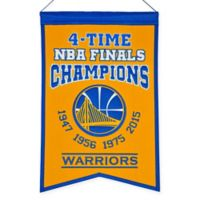 NBA Golden State Warriors Champions Banner