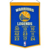 NBA Golden State Warriors Legends Banner
