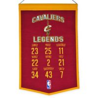 NBA Cleveland Cavaliers Legends Banner
