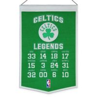 NBA Boston Celtics Legends Banner