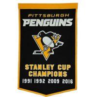 NHL Pittsburgh Penguins Dynasty Banner