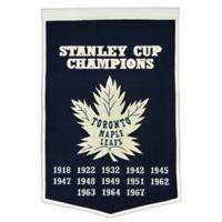 NHL Toronto Maple Leafs Dynasty Banner