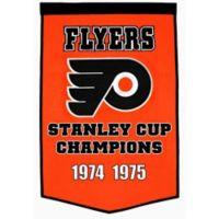 NHL Philadelphia Flyers Dynasty Banner
