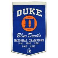 Duke University Basketball Banner
