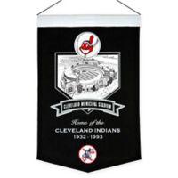 MLB Cleveland Indians Cleveland Municipal Stadium Banner