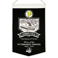 MLB Pittsburgh Pirates Forbes Field Stadium Banner