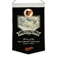 MLB Oriole Park Camden Yards Stadium Banner