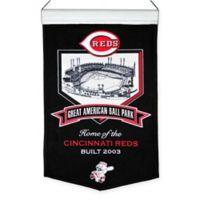 MLB Cincinnati Reds Great American Ballpark Stadium Banner