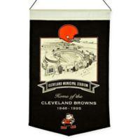 NFL Cleveland Browns Cleveland Municipal Stadium Banner